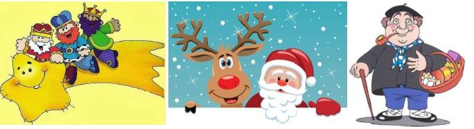 ¡¡¡¡¡¡Y llega la esperada visita de los Pajes, Papá Noel y Olentzero!!!!!!