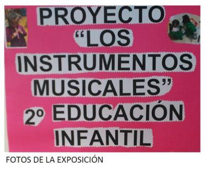 Instrumentos musicales 2º infantil