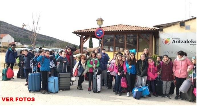 Nuestros alumnos de 5º de primaria en la Vela